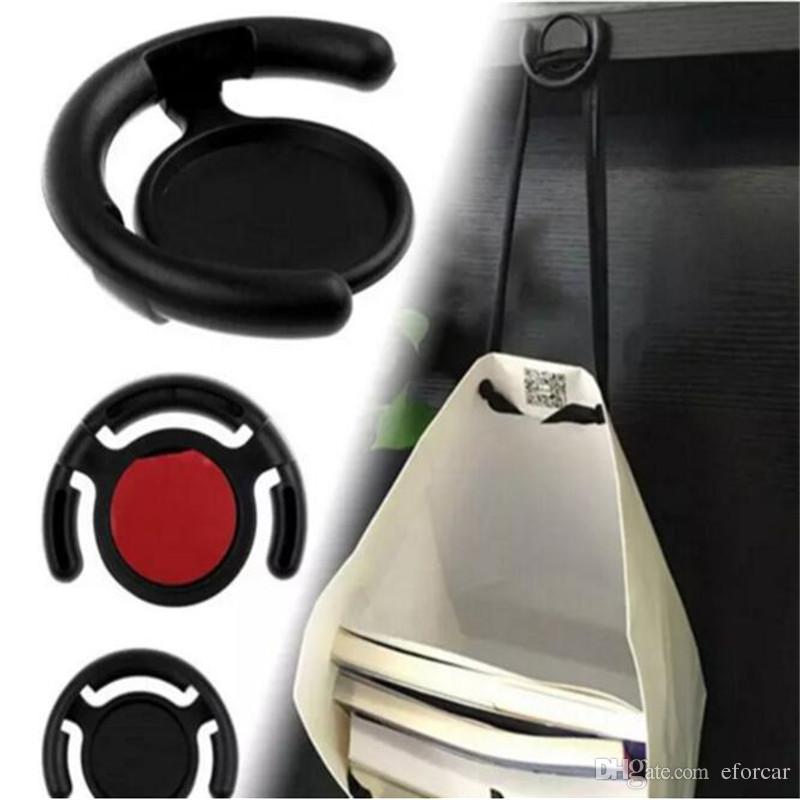 Gancho de teléfono celular adhesivo para la oficina de la pared de la ventilación del aire del coche Soportes de teléfono universales Tenedores del corchete del clip