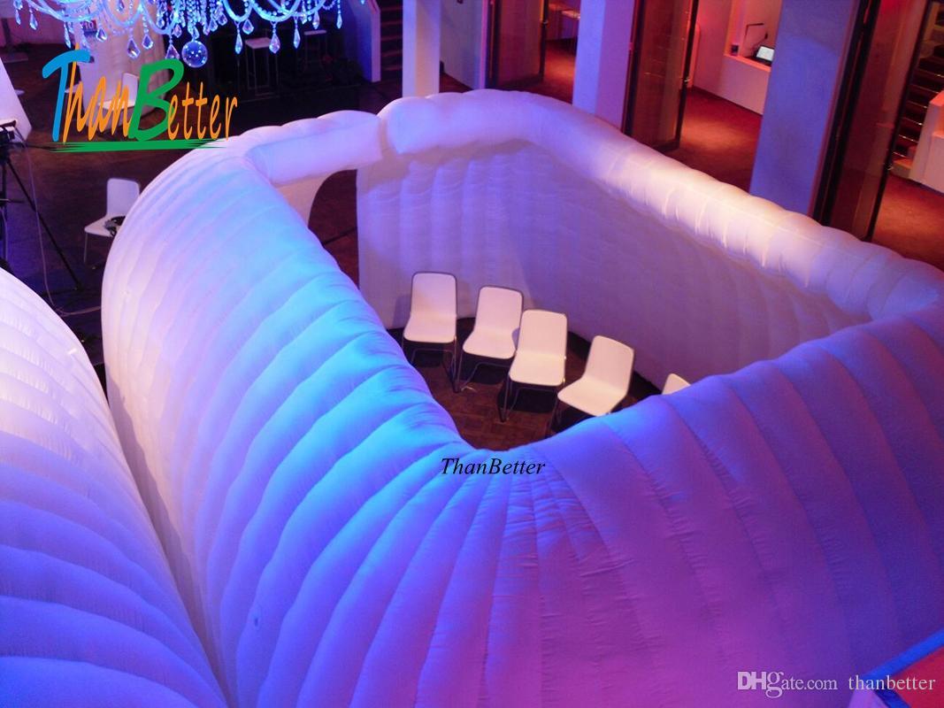 aufblasbare Zelträume der Veranstaltungsdekoration heißer Verkauf gute Qualität, aufblasbare Ausstellungsausrüstung für Ausstellungsshow