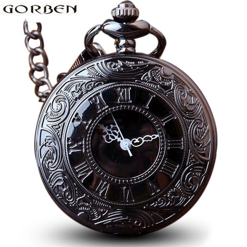 Watches Just Vintage Bronze Spider Web Ball Design Quartz Fob Pocket Watch With Necklace Chain For Women Girls Ladies Best Gift