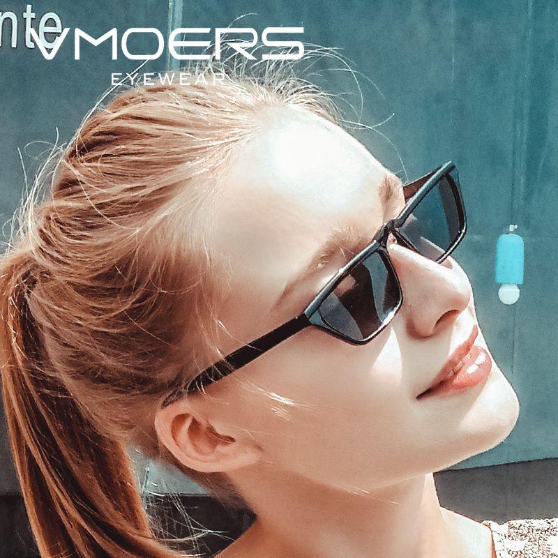 2772f2a14c9a VMOERS Retro Small Cat Eye Sunglasses Women Black Plastic Oculos Shades  Female Vintage Cateye Sun Glasses For Women Luxury 2018 Designer Glasses  Sunglasses ...
