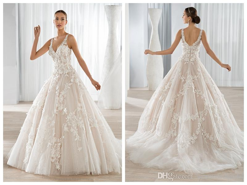 Discount wedding dresses bridal gowns robe de mariée
