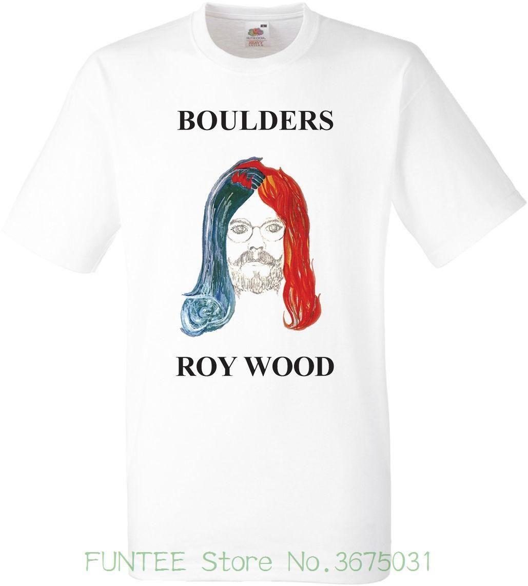 Women S Tee Roy Wood Boulders Album Short Sleeved Fotl Tshirt 2018 Kawaii  Print T Shirt Women Online Buy T Shirts Tna Shirts From Lijian61 503c0a8aaf