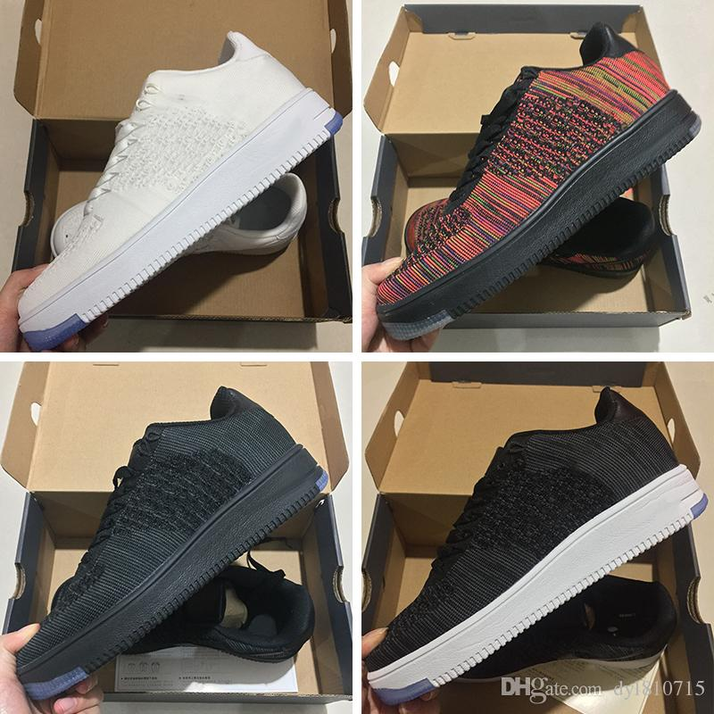 brand new 8212f d04fc Compre Sneakers Nuevo Estilo Running Shoes Fly Line Hombre Mujer Zapatos  High Low Lover Zapatillas Skate 2018 Nike Free RN Air Force Flyknit 1 ID One  Knit ...