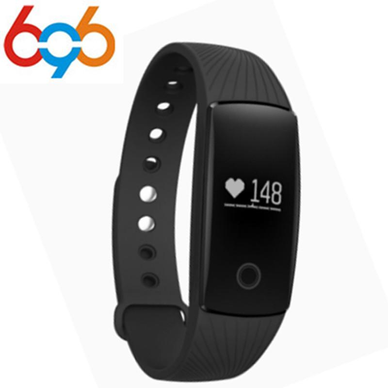 29a90ab8f9c EnohpLX ID107 Smart Fitness Bracelet Band Heart Rate Monitor Sports  Activity Tracker Wristband PK Fitbit Mi Band 2 M2 Pro V05C Best Smartband  Fit Wristband ...