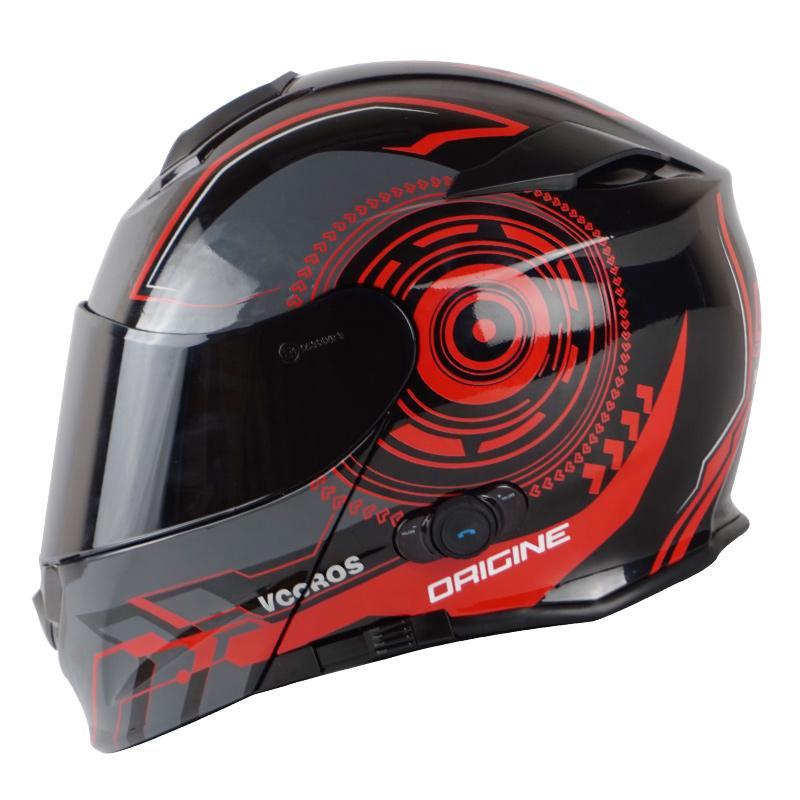 Vcoros Intergrated Bluetooth Motorcycle Helmet 150m Intercom Range 2