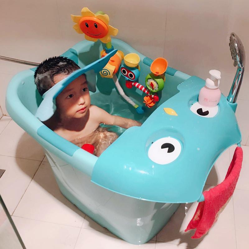 Acheter Nouveau Né Bébé Enfants Douche Pliant Voyage Sécurité Siège