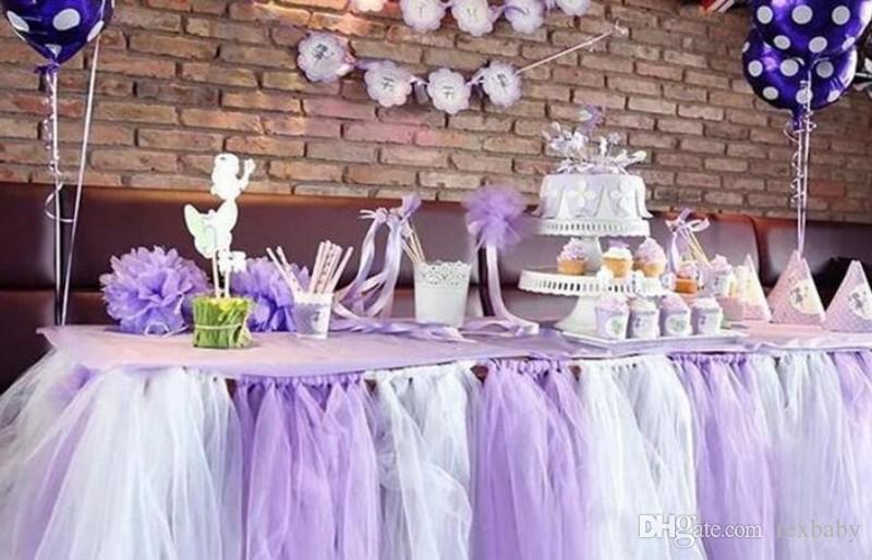 6 pulgadas x 100 yardas Organza de la boda Corredores de mesa Decoración Hilo Roll Tulle Sheer Gasa Elemento Banquete Decoración Casamento Favores