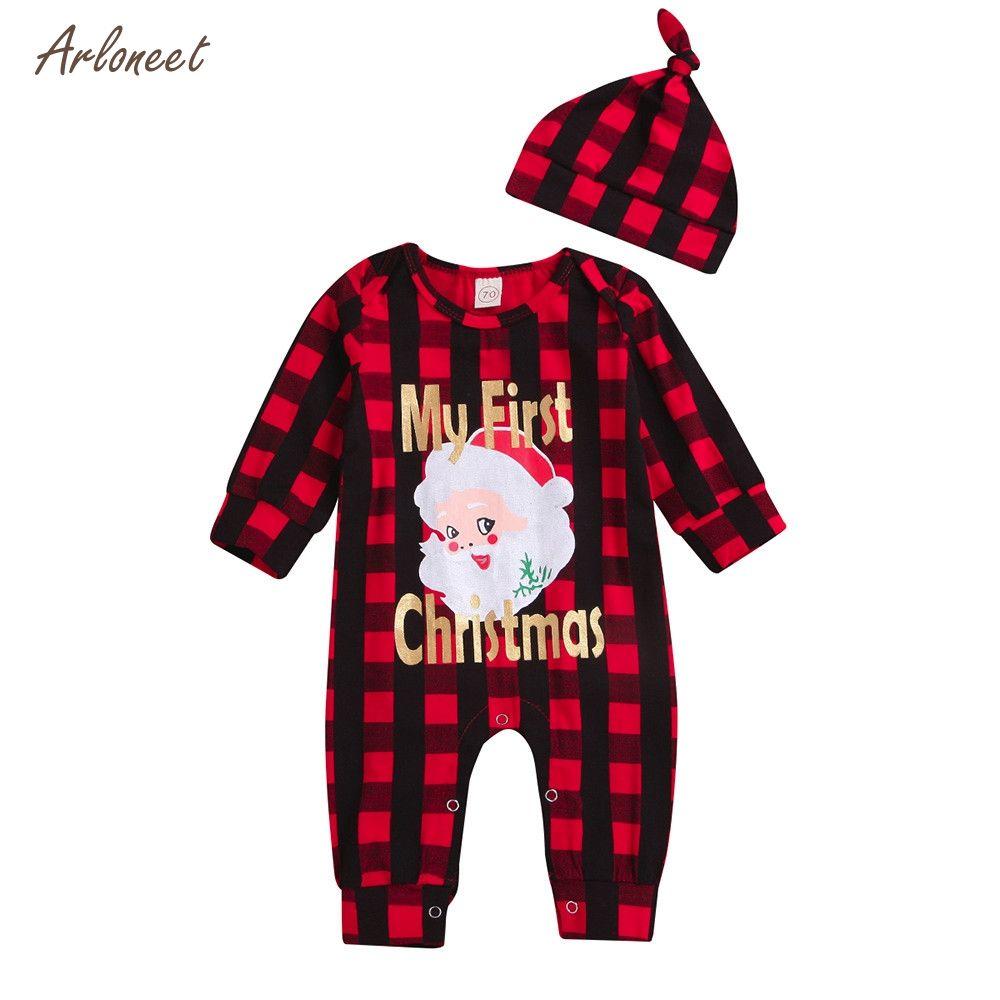 cc39387b5 ARLONEET Toddler Girls Boys Clothes Palid Santa LetterMy First ...