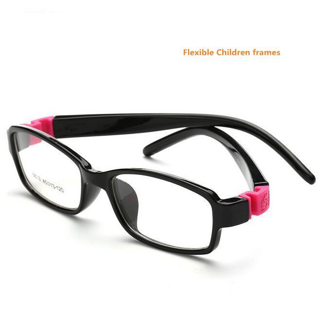 59bb904fa0 2019 8813 No Screw Flexible TR Kids Optical Frame Eyeglasses Girls Glasses  Cute Cartoon Rubber Sleeve For Children Prescription From Tuosu