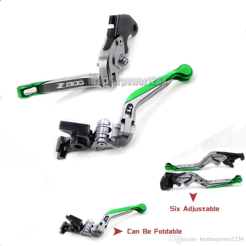 CNC Foldable Extendable Brake Clutch lever For Kawasaki Z800 2013-2016