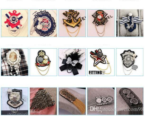 10 قطعة / الوحدة مزيج نمط الأزياء كريستال دبابيس دبابيس للنساء الفتيات مجوهرات الحرفية هدية br05 *