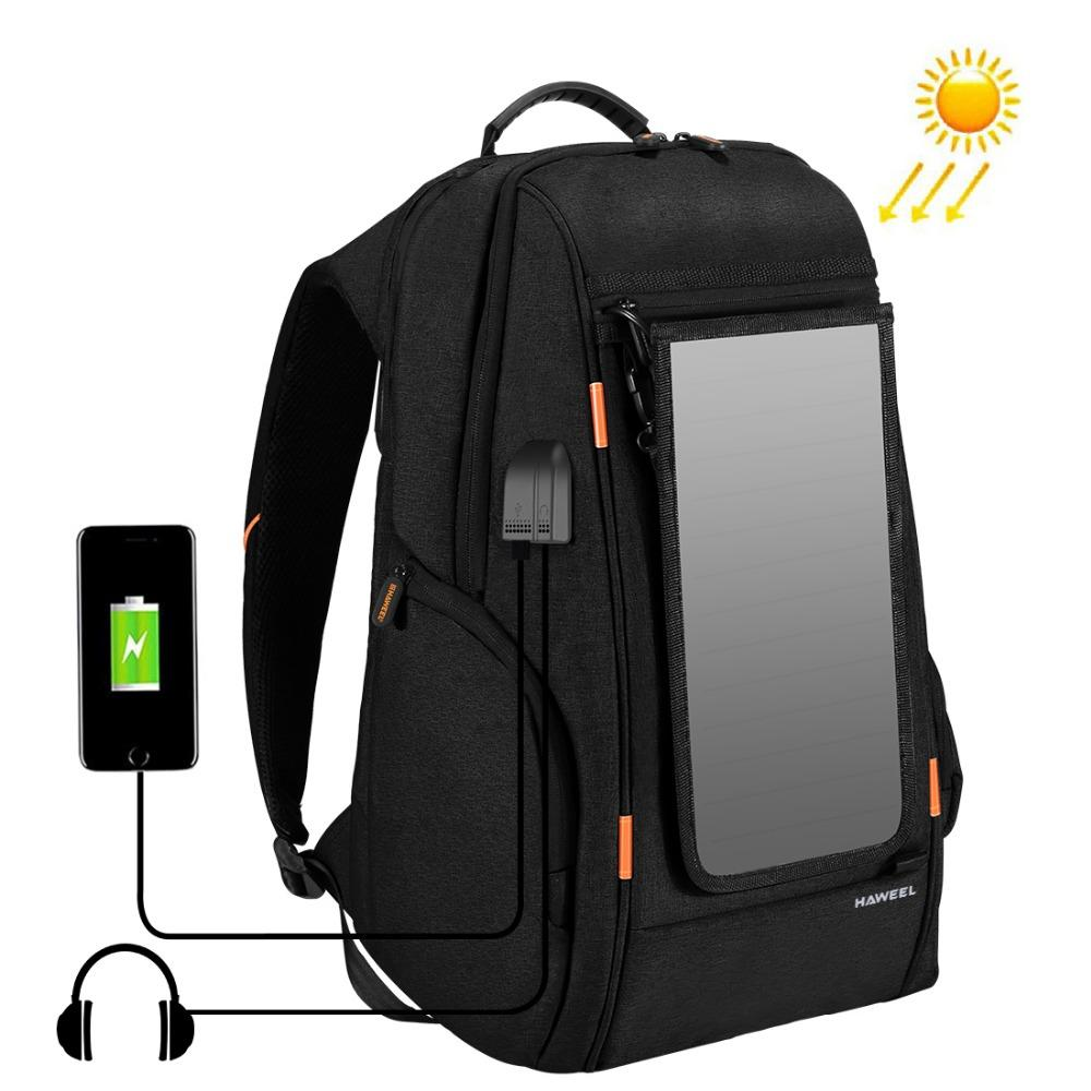 4794c4affc5 2019 Outdoor Solar Panel Power Camera Bag Multi Function Breathable Casual  Backpack Laptop Bag With Handle External USB Charging Port From Cloudless,  ...