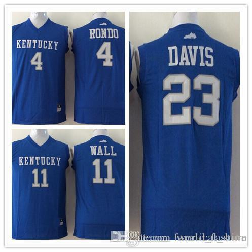 4fda44772a0 ... spain 2018 kentucky wildcats mens jersey 11 john wall 23 anthony davis  4 rajon rondo men