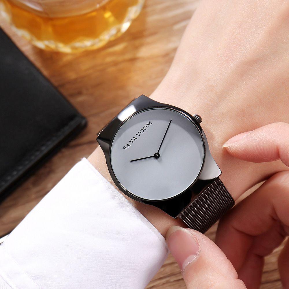 Va Va Voom Fashion Mens Watches Top Brand Luxury Minimalist Men S