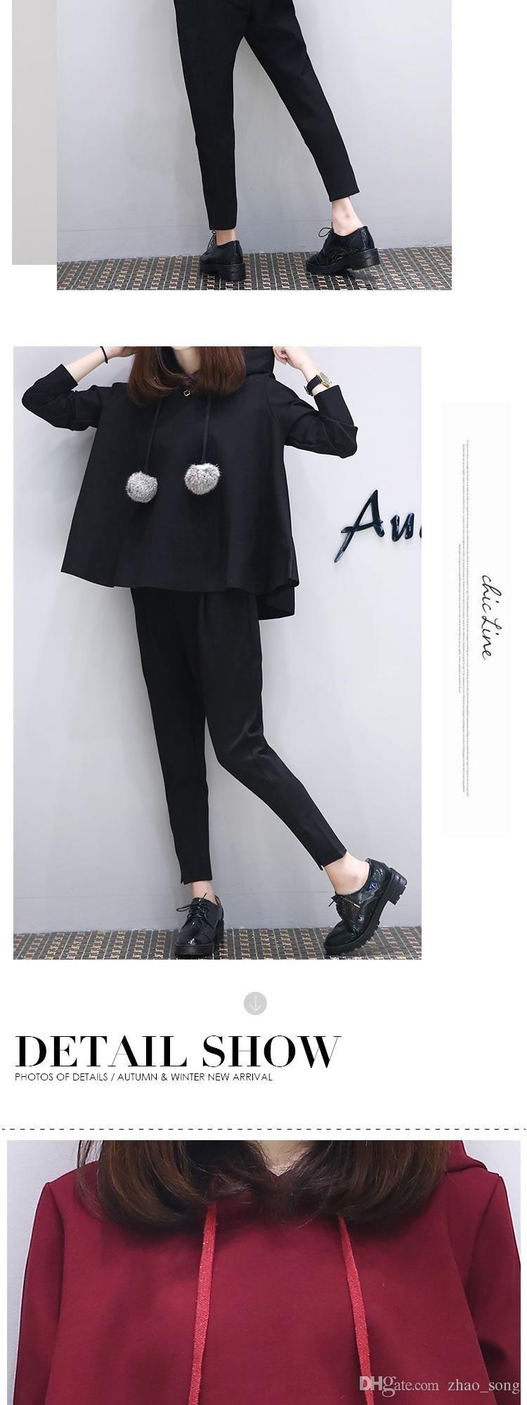 Autunno e inverno il nuovo XL Womens Casual suit slim due tailleur