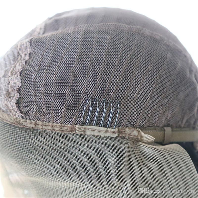 Pelucas trenzadas sintéticas del pelo del trenzado de ZF Peluca delantera del cordón trenzado 26 pulgadas Disponible Color negro Popular DHL ENVÍO GRATIS Afroamericano