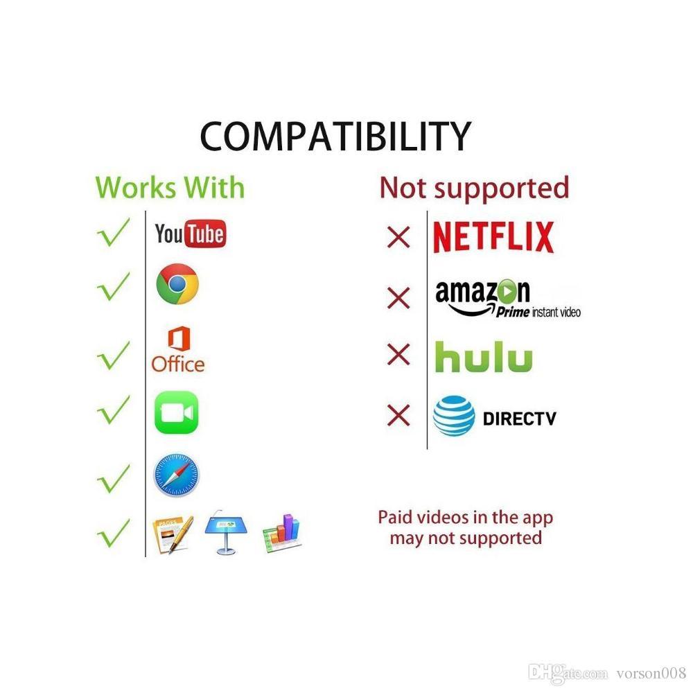 iPhone iPad zu HDMI Adapterkabel, 6ft 8Pin Lightning zu HDMI Digital AV Konverter Adapter für TV-Monitor-Projektor