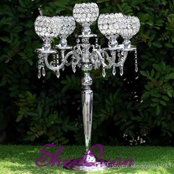 cylinder glass candle holder round candle holder,crystal glass bling crystal candlestick,crystal beaded votive candle holders