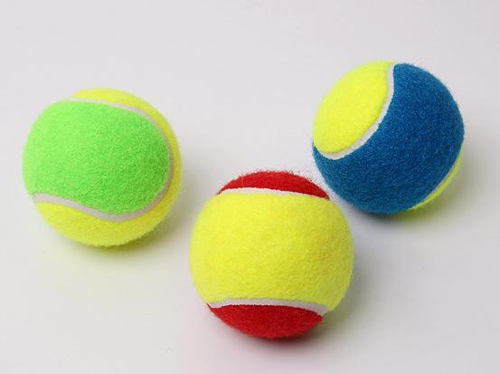 Pack Colorful Tennis Balls Training Tennis Ball 63 66mm Dia Ball