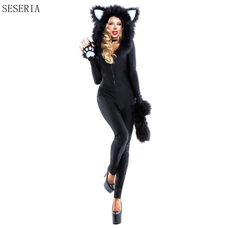 Grosshandel Seseria Erwachsene Frau Halloween Karneval Kostume Sexy