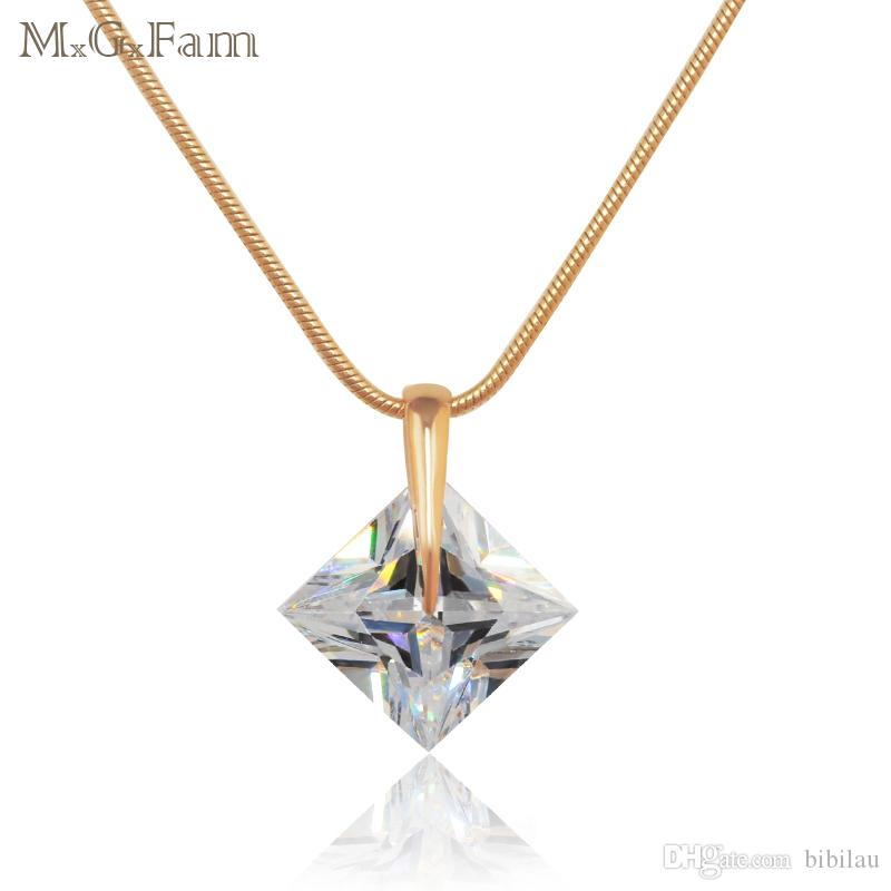 Wholesale 143p best price new design single square stone pendant wholesale 143p best price new design single square stone pendant necklace women 18k gold filled with free matching chain personalized necklaces amethyst aloadofball Gallery