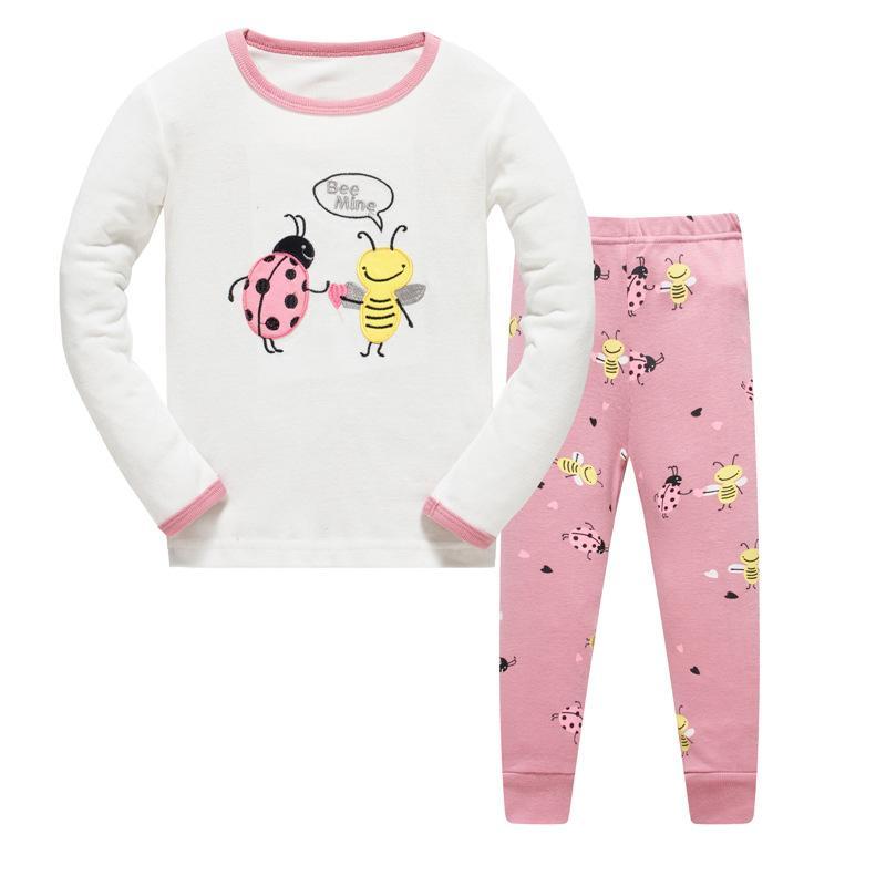 801b777ba Children S Pajamas For Girls Pijamas Infantil Sleepwear Kids Baby ...