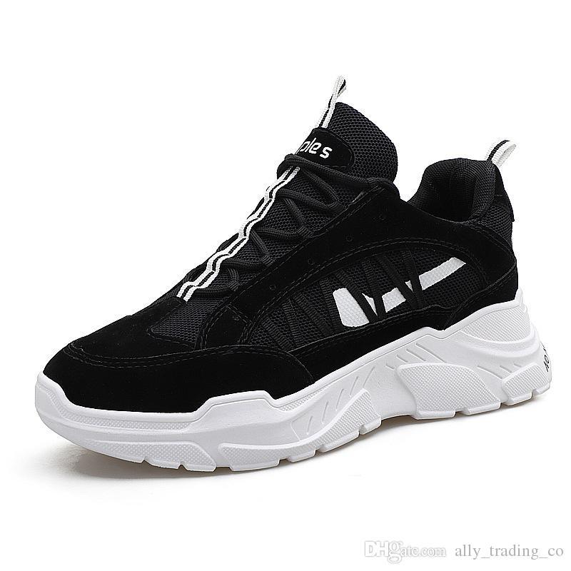 l'automne de mode mode mode les vieilles chaussures ins super feu hommes est épais. 598b31