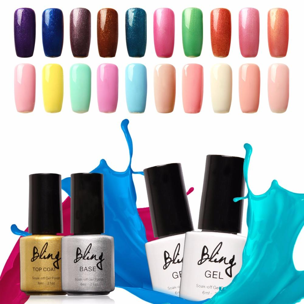 Uv Biling Hot Sale Gel Nail Art Kits Nail Gel Polish Uv Led Soak Off ...