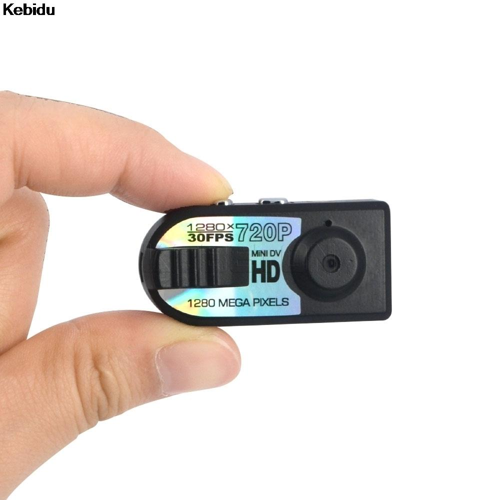 Kebidu 1280*720P Mini HD DV DVR Camera Micro Camera Digital Q5 for Cam Video Voice Recorder Camcorder Camara for Espiao TF card