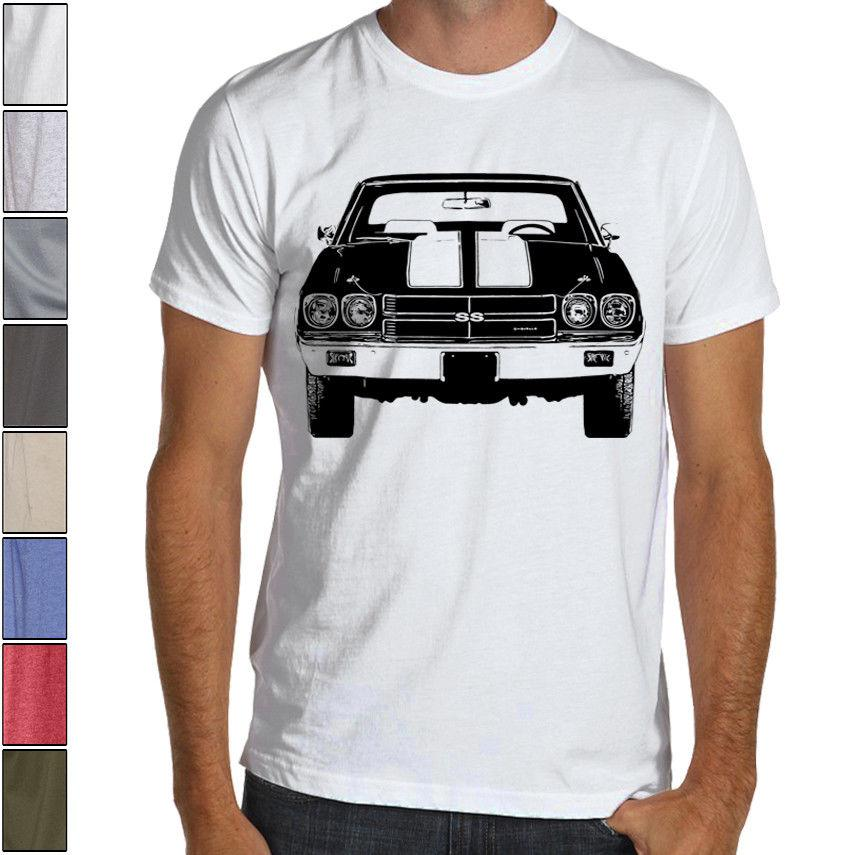 16d0f3919 CHEVELLE SS 1970 CHEVY American Muscle Racing Soft Cotton T Shirt Multi  Colors Funny Unisex Casual Tee Top Clever T Shirt 10 T Shirt From ...