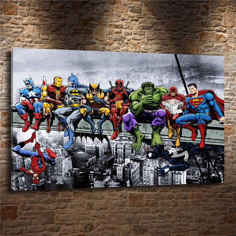 2019 SupermanHome Decor HD Printed Modern Art Painting On Canvas Unframed Framed From Love3paintings 598