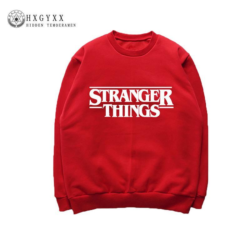 a0d26ab8fdb5 2019 O Neck Stranger Things Women Sweatshirt 2018 Fall Casual Oversized  Hoodies Pullover Tracksuit Hip Hop Jumper Sweat Femme Okb848 From Alfreld,  ...