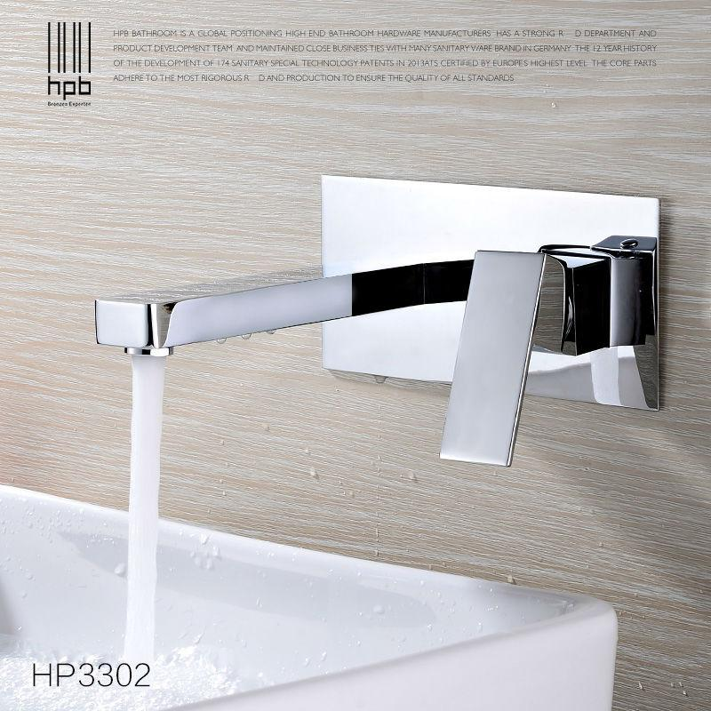 2018 Wholesale Hpb Contemporary Concealed Installation Wall Basin ...
