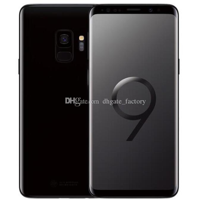 Goophone 9 S8 Quad Core Android 6.0 1GB/4GB Show Fake 4GB RAM 64GB ROM Fake 4G LTE Unlocked Smartphone Cell Phone DHL Free