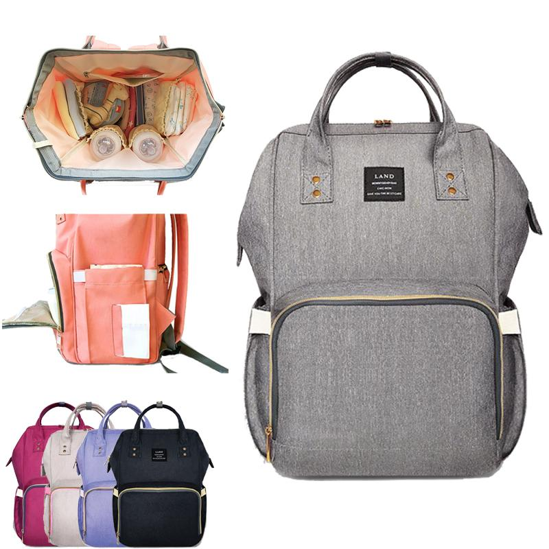 Upgrate Fashion Maternity Mummy Nappy Bags Brand Large Capacity Baby Bag  Travel Backpack Design Nursing Diaper Bag Baby Care UK 2019 From Roohua 0b6f13d3a