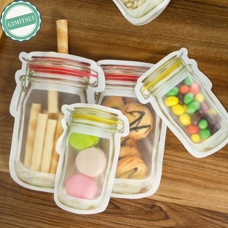 2018 Storage Zipper Snack Stand Up Bag Pouches Zip Lock Zipper Bag Grade  Plastic Storage Bags Smell Proof Clip With Window From Baolv, $27.53 |  Dhgate.Com