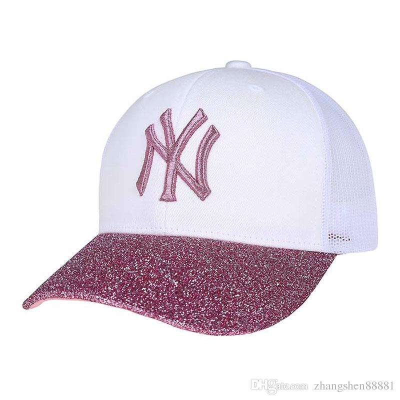 BHot Style Men s And Women s Recreational Sports Net Cap 5384666139d3