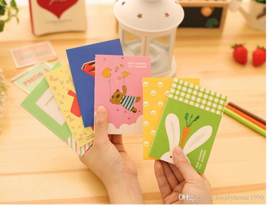 Korean Stationery Totoro Mini Notebook Cartoon Small book Cute Gift Memo