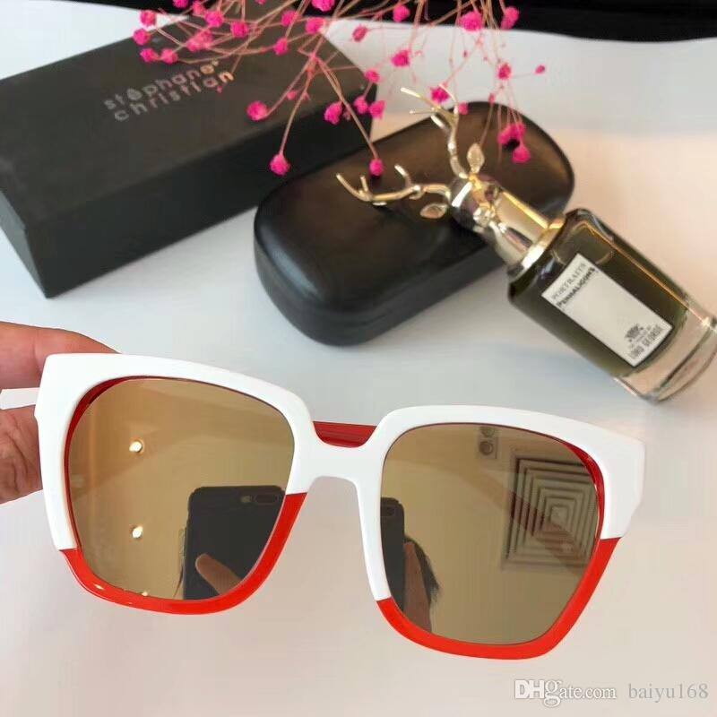 acdf0828361 Stephane christian ivm white red sunglasses gold mirror sonnenbrille jpg  800x800 Stephane christian eyewear