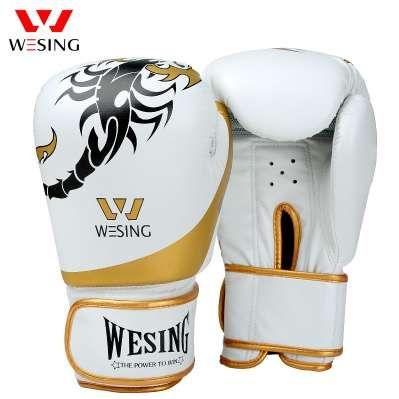 a358ab31e Compre Wesing Novos Homens Luvas De Boxe Mulheres Escorpião Padrão Muay  Thai Luvas Kickboxing Sanda Luva Boxe Luvas De Treinamento De Canada store