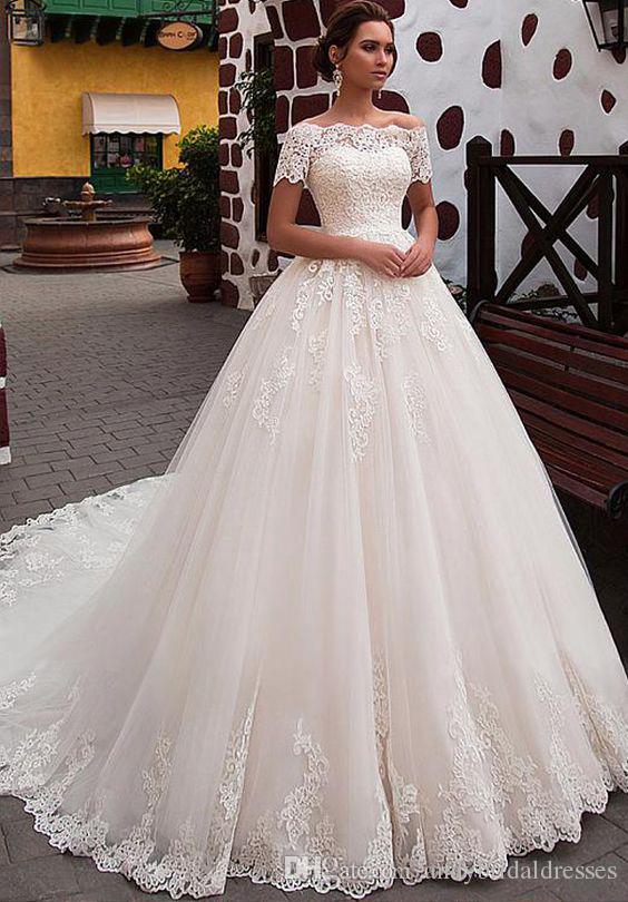 Vestido de novia para una princesa
