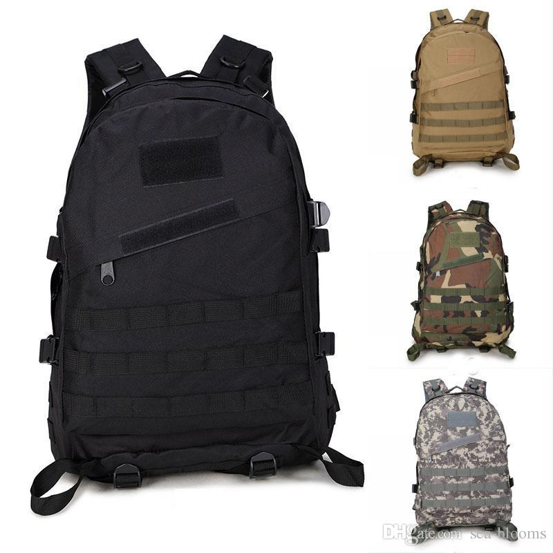 cd1437ef59 2019 3D Waterproof Tactical Military Backpacks Outdoor Travel Bag  Mountaineering Hiking Backpack Camping Trekking Double Shoulder Rucksack  G576F From ...