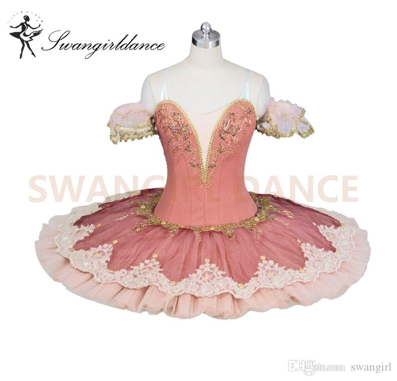 194d6a5b65c1 2019 Adult Peach Fairy Professional Ballet Costumes For Women ...