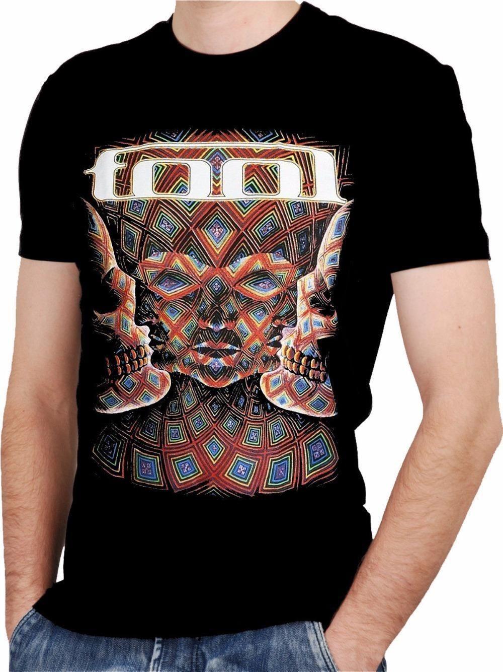 Custom Design T Shirts Fashion Men Crew Neck Short Sleeve Tool Band