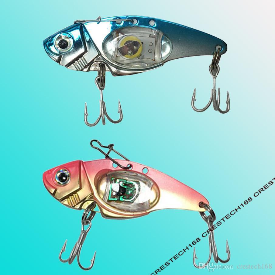 VIB الكهربائية السحر الصيد الصيد السحر الطعوم المعادن ملعقة الصيد الصعب إغراء باس شفرة الساعد الطعم التريبل خطاف المغازل se