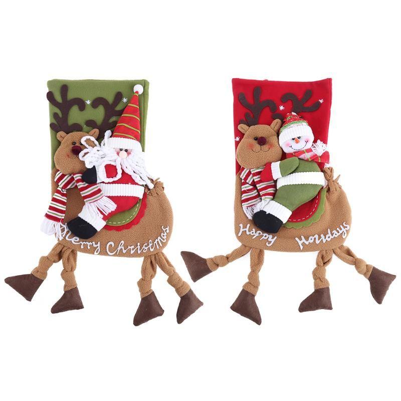 santa claus gift bag kids candy bag christmas party ornaments rh dhgate com