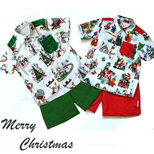 Cute Santa Claus Outfit For Christmas Toddler Kids T-Shirt Unisex Clothing