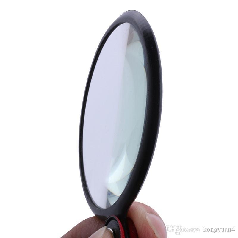 Mini portátil 50mm 8X dobrável de bolso dobrável jóias lupa Lupa Lupa Lente de Vidro Dobrável Jóias Loop Jóias Lupas