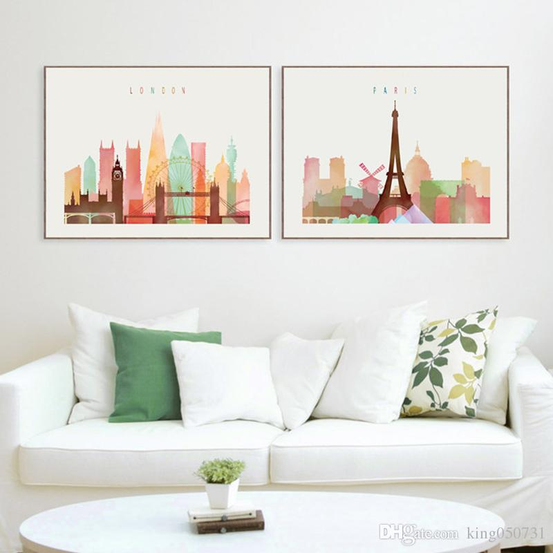 2019 london paris new york paintings nordic decoration canvas rh dhgate com