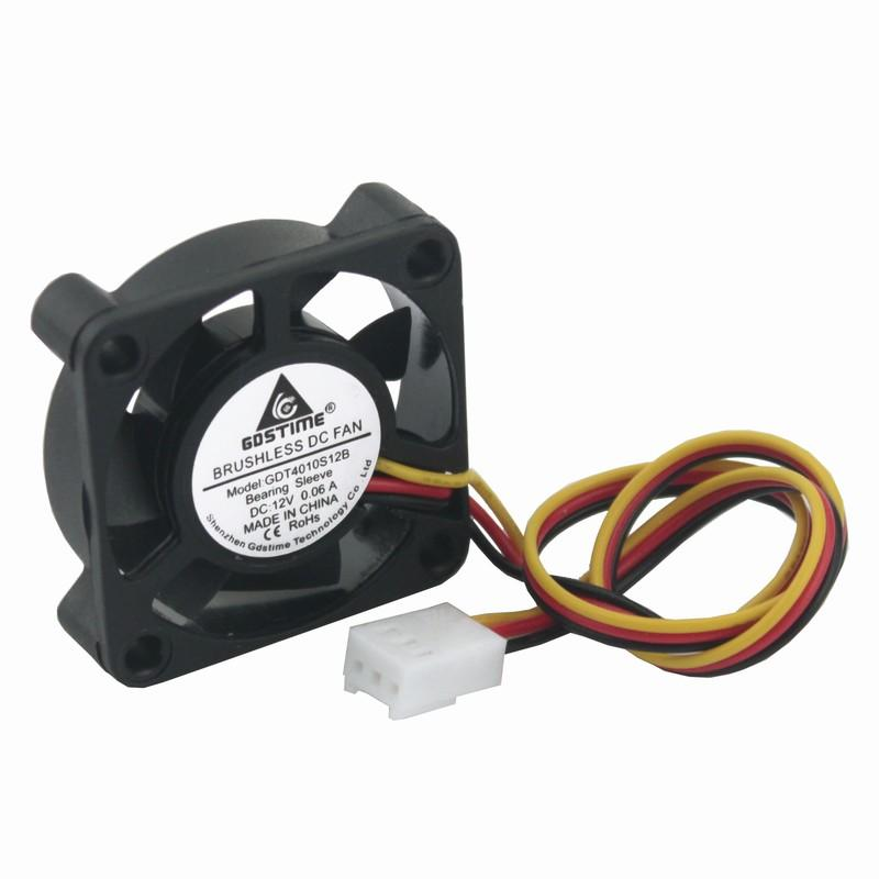 2019 fan fans cooling gdstime 3pin 3 wire fg 40x40mm 4010 12v pc rh dhgate com